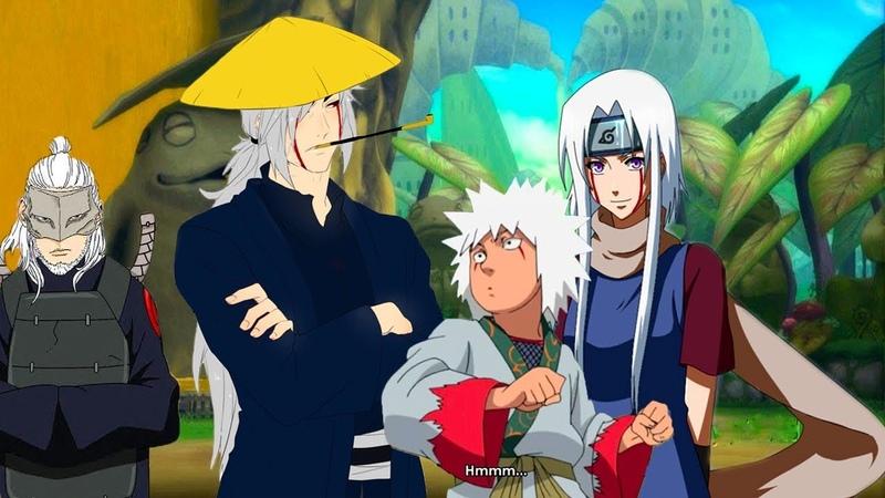 Семья и рождение Джирайи в аниме Наруто | Боруто