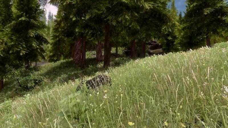 Skyrim SE - Grass Mods_ A Detailed Showcase And Comparison - Verdant - Veydosebr