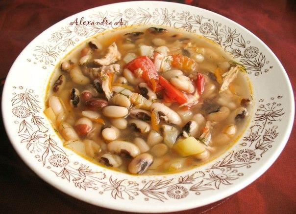 рецепт приготовления фасолевого супа из консервированной