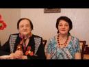 """09.05.2017г.""""У зори- то,у зореньки..."""",поёт Анна Матвеевна(1924г.р.)с дочерью Ниной."""