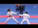 Бронзовый финал женского кумитэ свыше 68 кг: Мелтем Хокаоглу (Турция) - Лаура Паласио Гонзалес (Испания)
