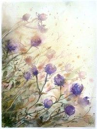 """Оригинал - Схема вышивки  """"Полевые цветы """" - Схемы автора  """"idochka """" - Вышивка крестом."""