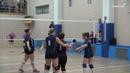 Техничный волейбол впечатление произвел