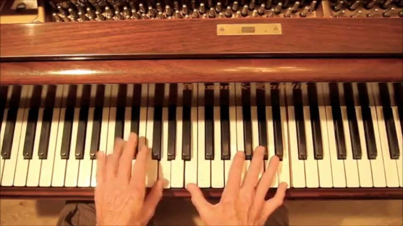 Love Me Tender, The Art of Reharmonization, 8 min. piano tutorial