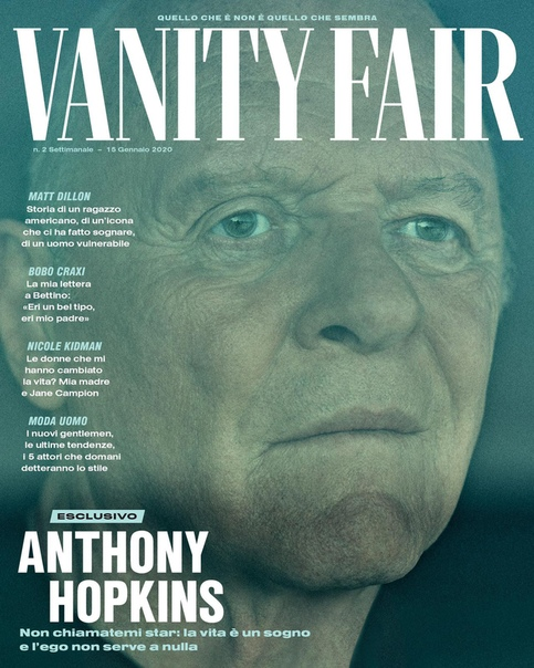 Anthony Hopins for Vanity Fair