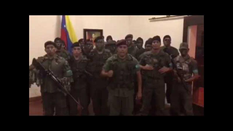 Militares se alzan en Venezuela CHISMEVEN.NET