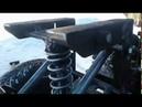 сиденье для минитрактора на пружине