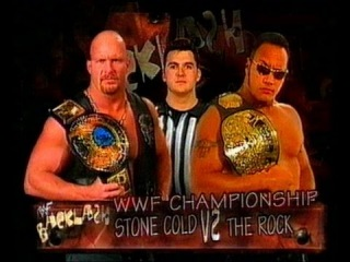 Stone Cold Steve Austin vs. The Rock - WWE Championship Match: Backlash 1999