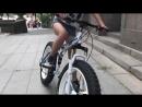 складной двухподвесный Фэтбайк Х5 на литых дисках (fatbike x5) от ХАММЕРБАЙК hummerbikes