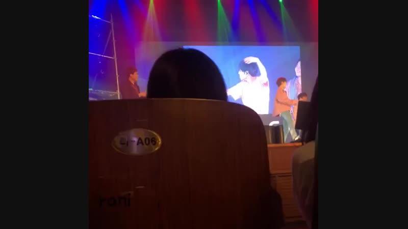 FANCAM   13.10.18   Chan (Random Dance) @ Fan-con To Be An ACE in Seoul