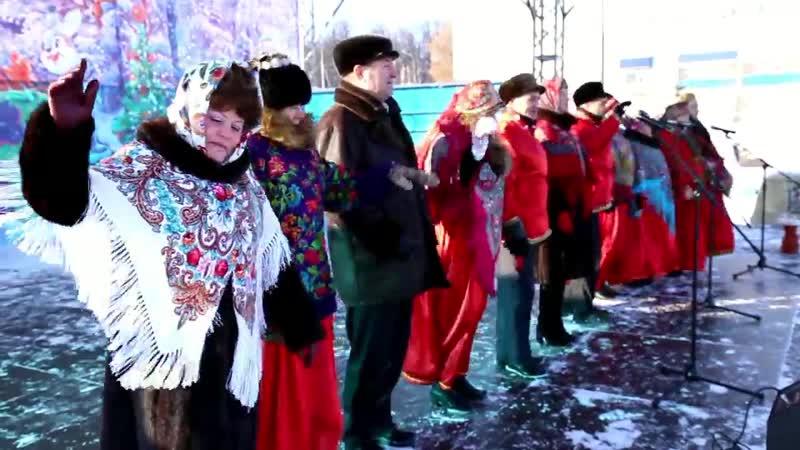 Рождественские гуляния 7 01 2019 лениногорск