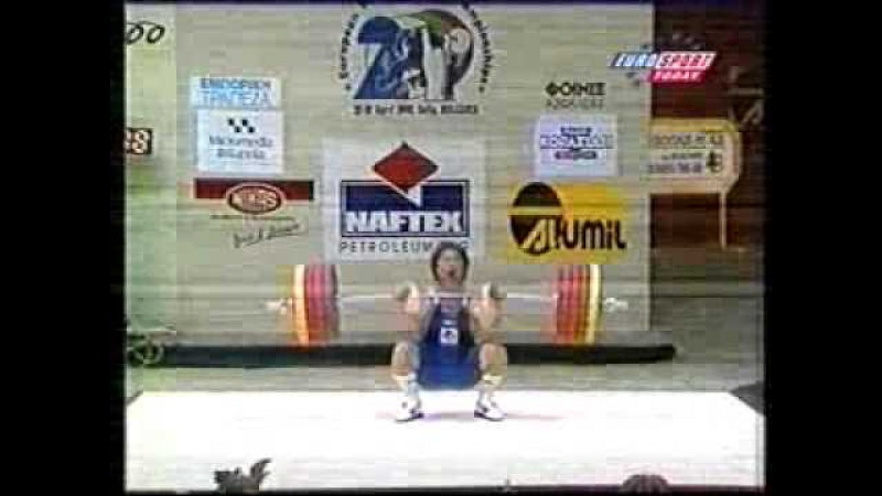 Asanidze vs Gardev Clean and Jerk, 2000 EWC