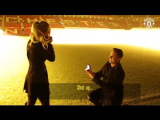 Manchester United - She said yes! February 2017