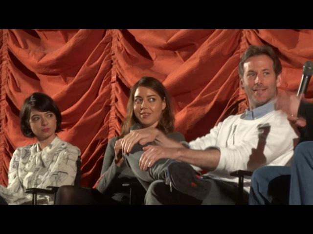 Kate Micucci, Aubrey Plaza, Jeff Baena The Little Hours QA 2 of 3