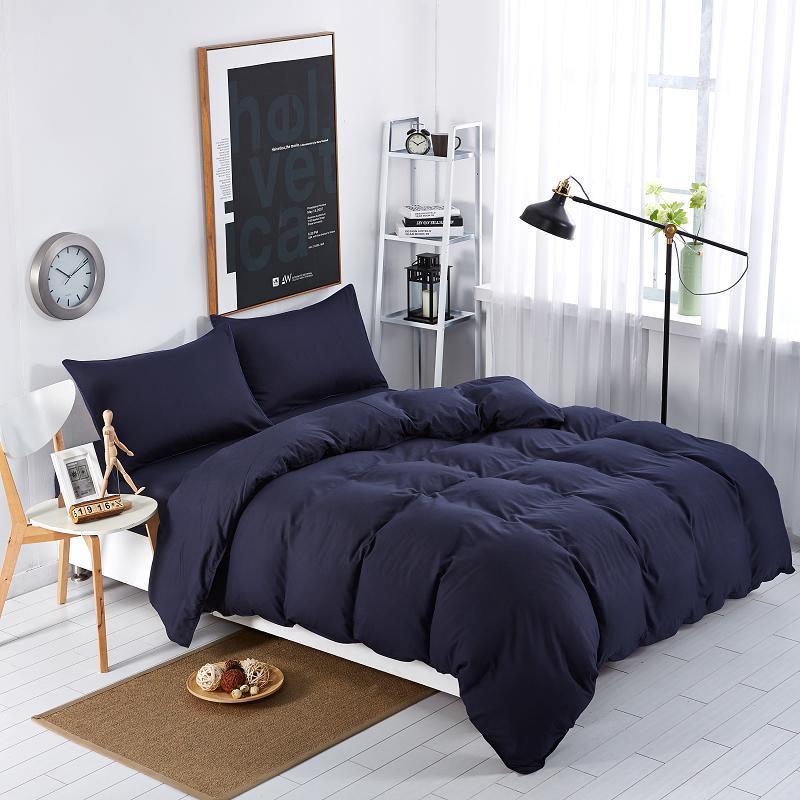 Черное постельное бель