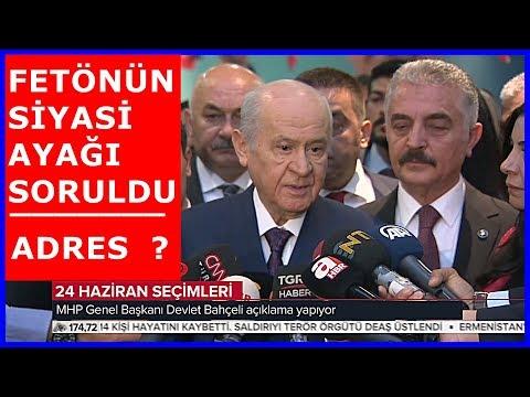 MHP Lideri Devlet Bahçeliden fetönün Siyasi Ayağı Açıklaması 3.5.2018