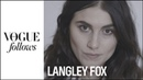 Artist and model, Langley Fox, talks tattoos, love, life and drawing VOGUE PARIS