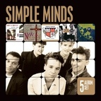 Simple Minds альбом 5 Album Set