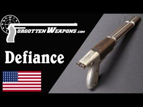 California Arms Co 20ga Defiance Pistol-Shotgun