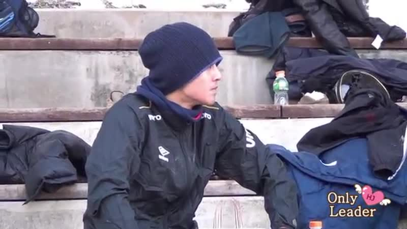2013.02.16 Kim Hyun Joong fancam @ FC Avengers soccer match