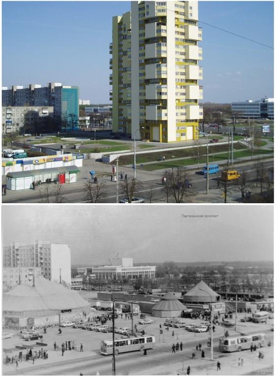 Две фотографии, на которых многие не узнают Брест