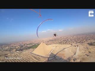 Египетские пирамиды глазами парапланериста - Советы строителя