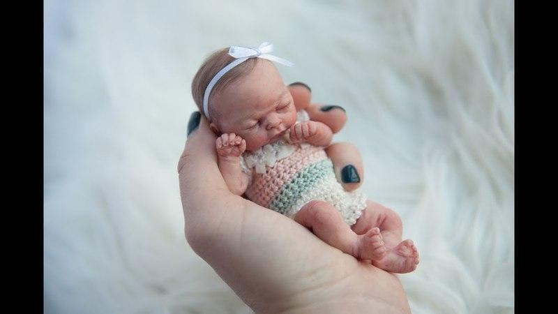 Miniature Silicone Baby Lila