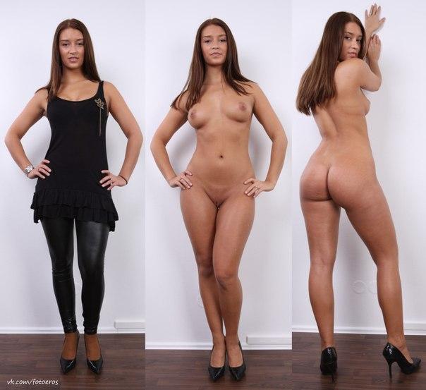фото эротика женщины одеваются