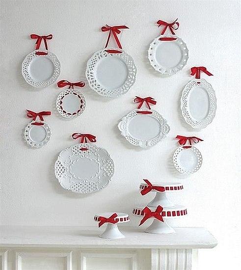 Подставки под декоративные тарелки своими руками