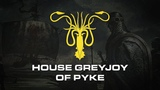 House Greyjoy of Pyke A Song of Ice and Fire