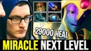 MIRACLE can play ANY HERO - Next Level Oracle with 29000 Heal