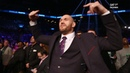 Incredible behind the scenes footage from ringside as Tyson Fury gatecrashed Deontay Wilder's fight