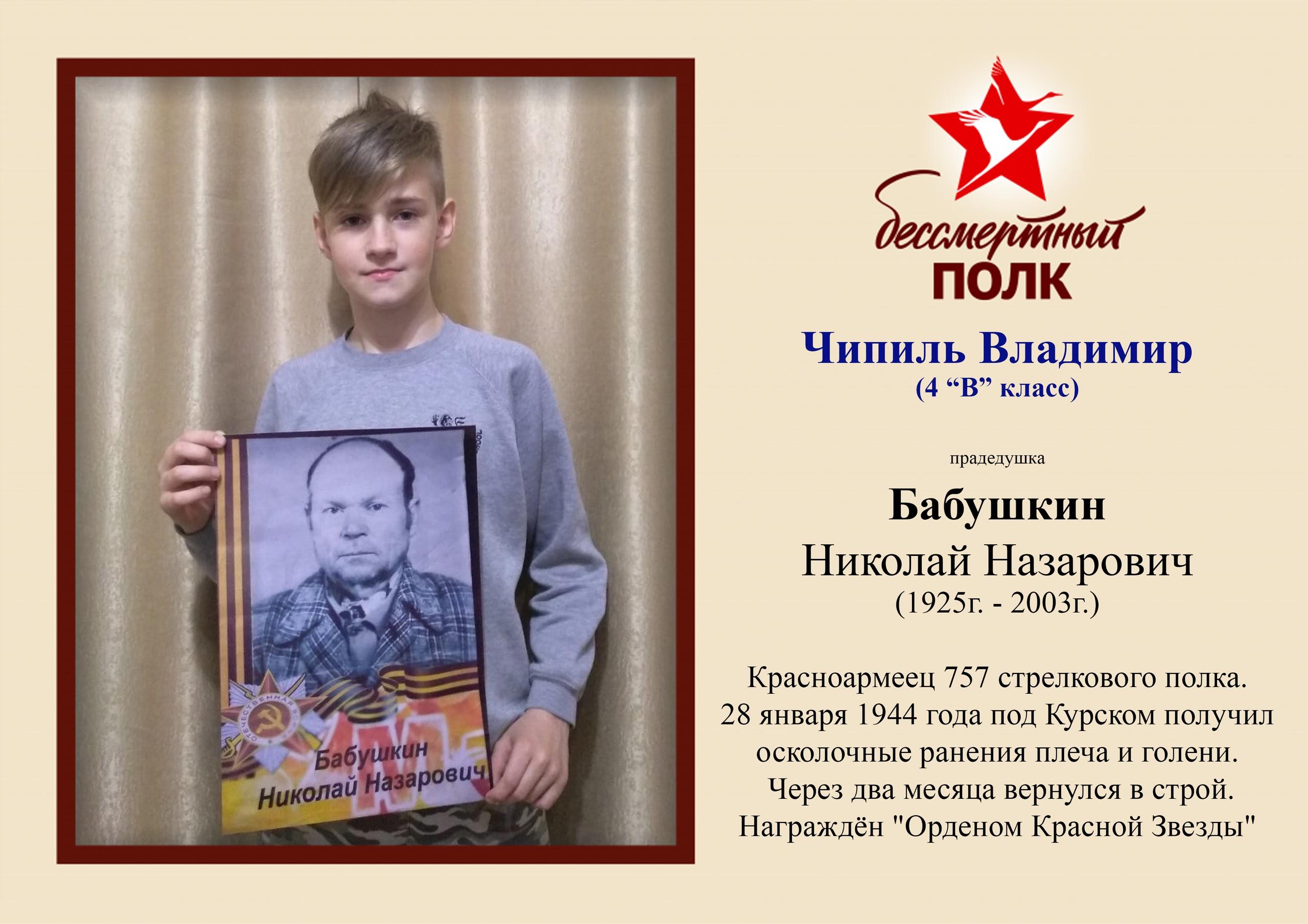 Чипиль Владимир