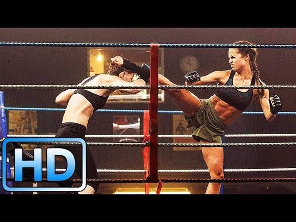 Лара Крофт дерется на ринге Tomb Raider Лара Крофт (2018)
