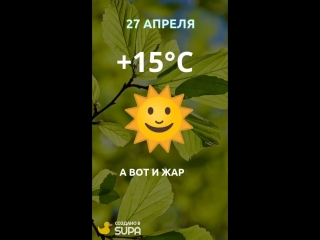 28 апреля погода