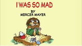 I Was So Mad by Mercer Mayer - A Little Critter Story