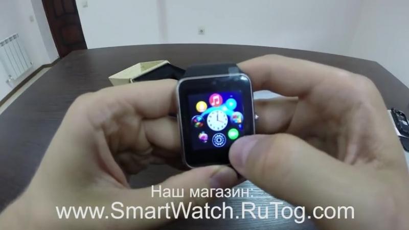 Обзор умных часов Smart Watch GT08, наручный часофон ( 480 X 854 ).mp4
