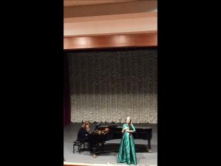 Ария Марины и сцена колдовства из оперы Добрыня Никитич А.Т. Гречанинова, исполняет Оксана Зинченко