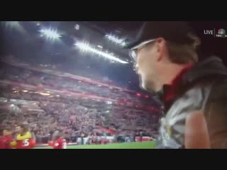 Jurgen Klopp reminding to the audience who's the real MVP.
