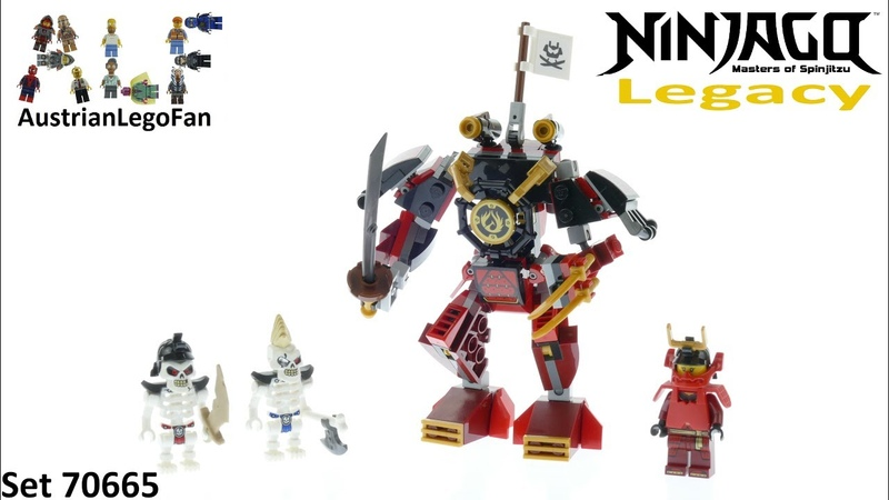Lego Ninjago Legacy 70665 The Samurai Mech - Lego 70665 Speed Build
