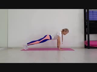 Упражнения на растяжку с Елизаветой Поцуковой