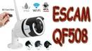 ОБЗОР ВОДОНЕПРОНИЦАЕМАЯ WI FI ESCAM QF508 IP Камера HD 1080