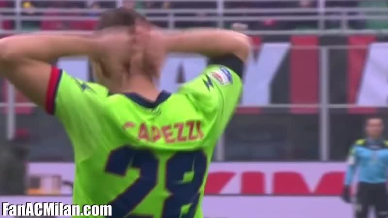 15 тур Милан 2-1 Кротоне (04.12.16)