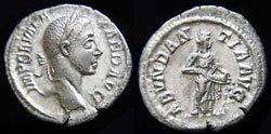 Древнеримские женщины-богини, монеты, Абунданция