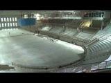 Строительные работы в Концертноспортивном комлпексе в пригороде Владивостока выходят на финальный эт