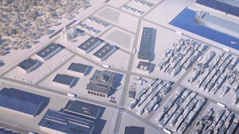 Volvo Trucks – Introducing Vera, the future of autonomous transport