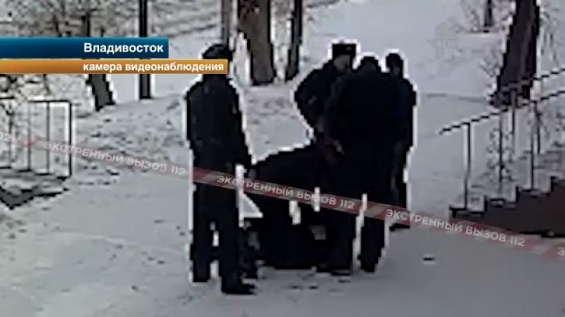 Жестокое задержание гопников попало на видеокамеры