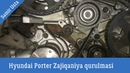 Hyundai Porter Zajiqniya qurulmasi Metka necə qurulur 4d56 Samir Usta