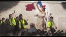 Парижский граффитчик переписал картину XIX века в честь «жёлтых жилетов»