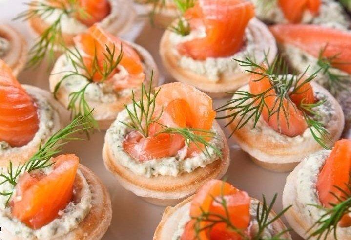 10 вкуснейших начинок для тарталеток 1.Творожный сыр с